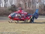 Atlantic Air 2 makes it's first flight into Branchburg on 3/4/2011 for a trauma scene response