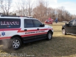 Atlantic Air 2 at a helispot Whiton Rd School on 3/4/2011 for a scene response.