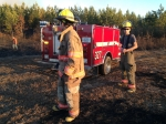Mutual aid with Callands - Firefighters Steven Rigney and J.T. Smith - January 2014