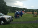 Mutual aid with Gretna Rescue, Cool Branch Rescue, and Life Guard - May 2014