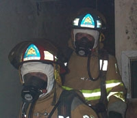 Bowie firefighters
