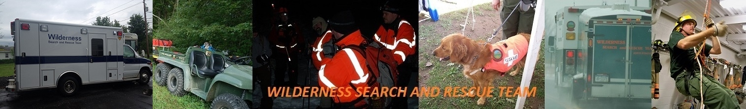 Wilderness Search and Rescue Team