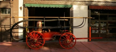 1865 James Smith Hand Pumper