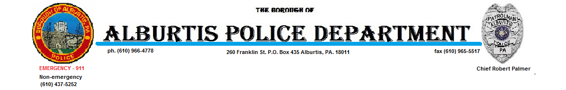 Borough of Alburtis Police Department