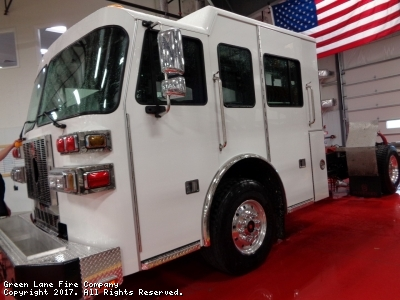 The new Squad 42 has made it to the PA Sutphen facility