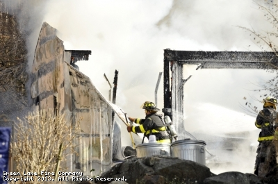 Engine and Tanker assist to Upper Frederick