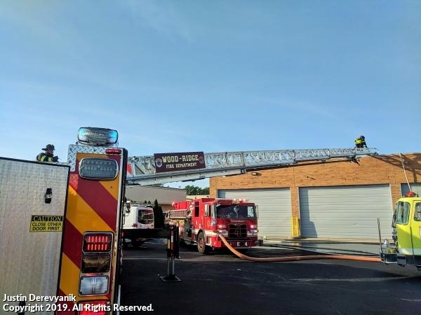 Teterboro structure fire