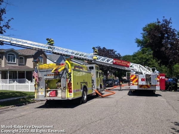 Hasbrouck Heights house fire