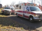BLS & Support unit assisting at Structure Fire 11-25-07 in the North Branch section of the township