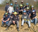 4 Branchburg Rescue members participated in the April 2008 Trench Rescue Operations program at HCESTC.  Members included Heather Apsley, Brian Gonzalez, Duck Kauczka and Liz Mikaliunas