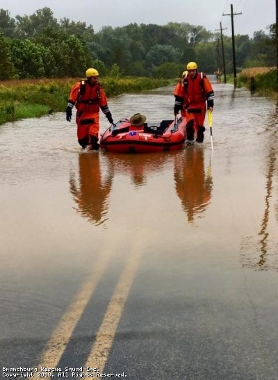 Water Rescue on Black Point Road