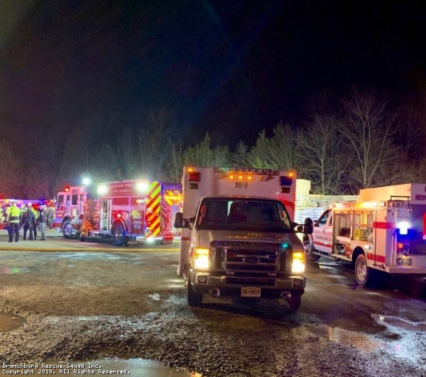 2nd Alarm Branchburg Fire