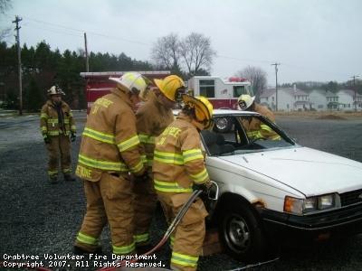Vehicle Rescue Drill 2006