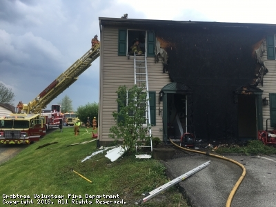 Structure Fire, Salem Twp