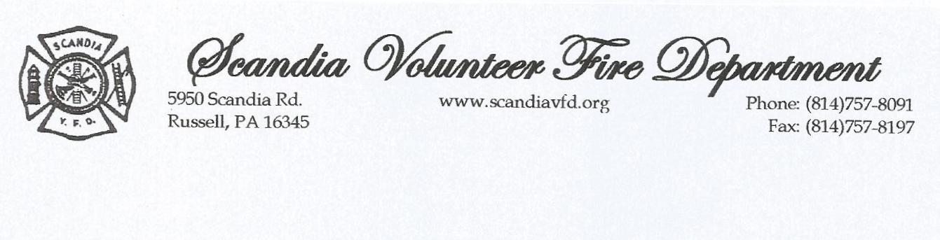 Scandia Volunteer Fire Department