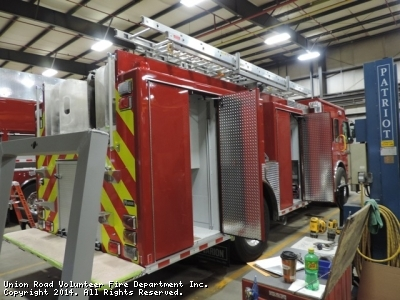 Updated photos of the new Engine 511