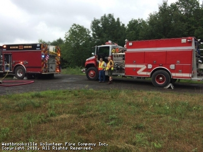 Tanker To Otisville Structure Fire
