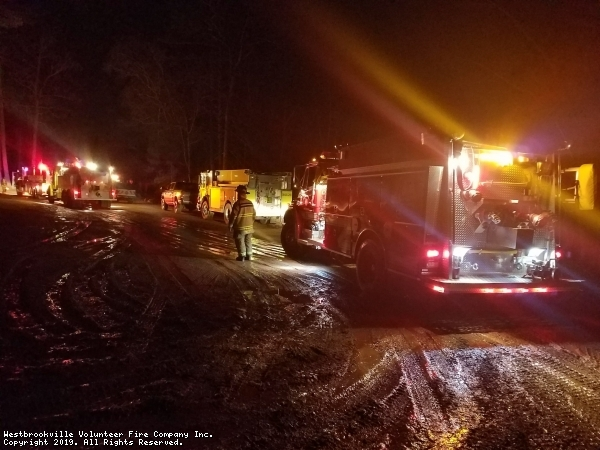 Tanker and Rescue To Forestburgh Structure Fire