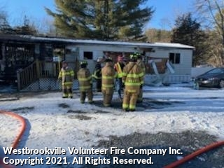 Working Structure Fire On Haven Road