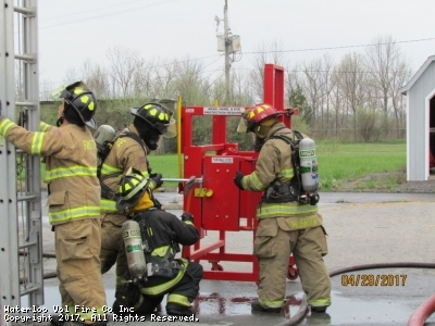 Photo's from County Live Fire Training on 4/29/17