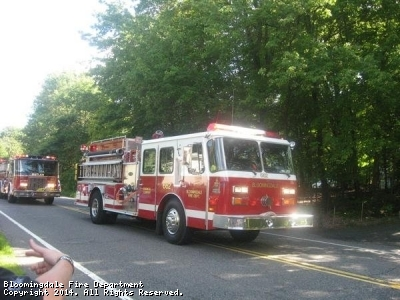 The E-One was our first completely enclosed cab as well as our first and only top mount pump. The E-One served as Engine 662 from 1990 through 2009