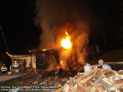 Structure Fire Nottingham Township