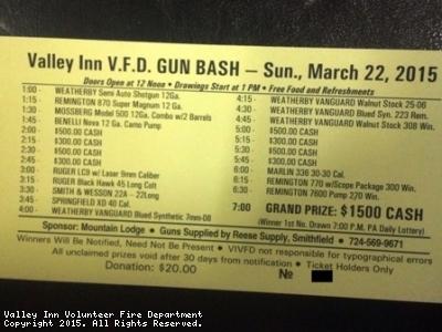 Spring Gun Bash Sunday, March 22nd