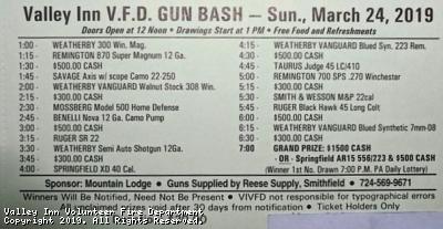 2019 Spring Gun & Cash Bash