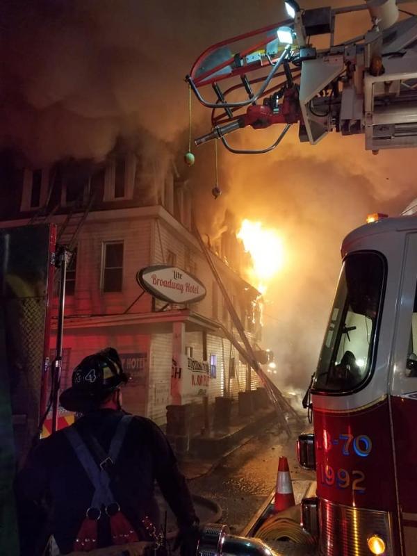 Broadway Hotel Fire