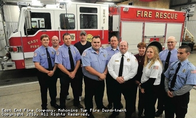 2013 OFFICERS AND COMMITTEE MEMBERS FOR EAST END FIRE CO.
