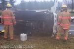 Overturned truck 3/19/08