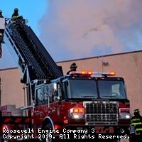 Large Commercial Building Fire - 3rd Alarm