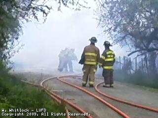 Early Morning Barn Fire at Twin Oaks