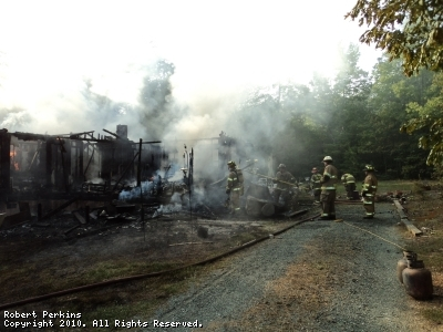 Mutual Aid Call in Fluvanna county