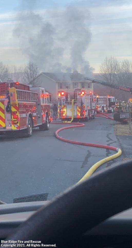 Hearthwood Drive Basement Fire