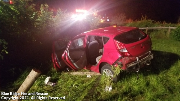 Auto Accident With Entrapment Near Sportsmans Adams County