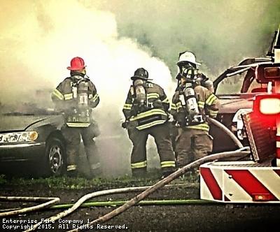 CAR FIRE 2015