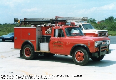 Retired #09 - 1975 International/Pierce MiniPumper