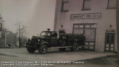 Retired #02 - 1945 Dodge Pumper