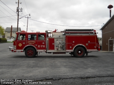 1986 Pierce Dash.  Purchased in 2005 from Naperville Fire Department in Illinois and sold to Argentina, South America in 2011
