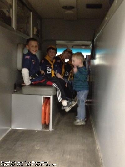 Cub Scouts tour Station # 2