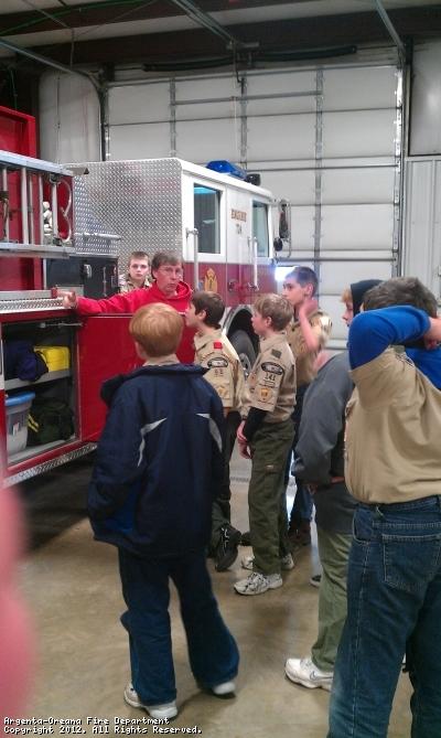 Boy Scouts Merit Badge Training