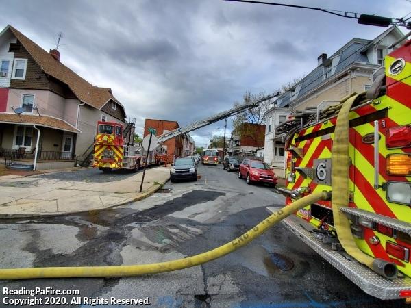 2nd Alarm Fire on Greenwich Street