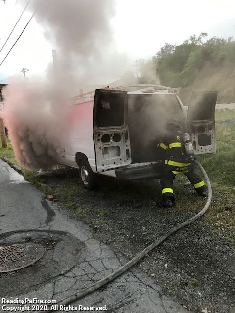 Back-to-Back Vehicle Fires on South 9th Street