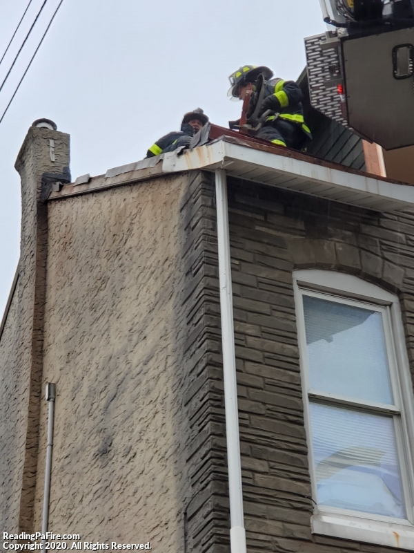 Box Transmitted After Power Line Causes Fire in Attic