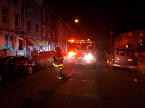 Kitchen Fire on Pine Street