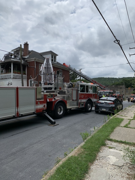 City Assists County With Fire
