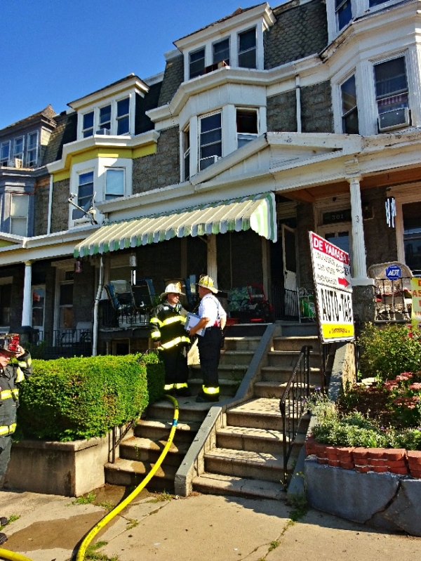 Occupant Removed From Basement Fire