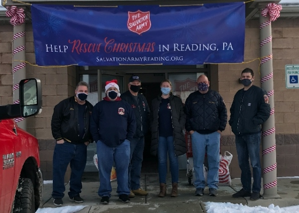 Firefighters purchase over $9,000 worth of toys for Salvation Army