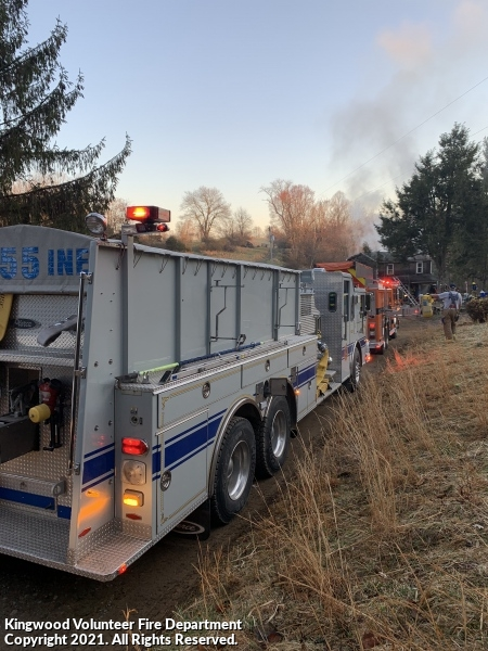 Assist Company 12 - Structure Fire